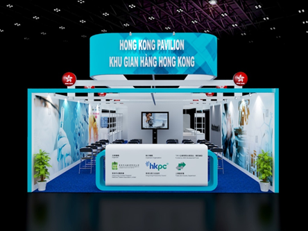 Welcome to Hong Kong Pavilion at Vietnam Medi-Pharm Expo 2019 in Hochiminh City
